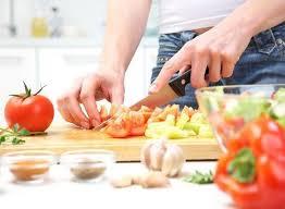 prepare food at home