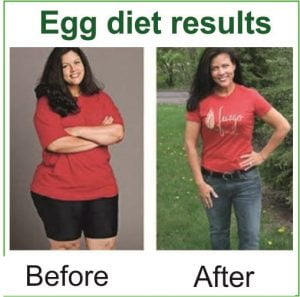 Egg diet results pictures
