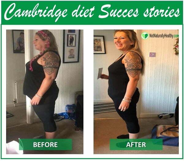Results Cambridge Diet