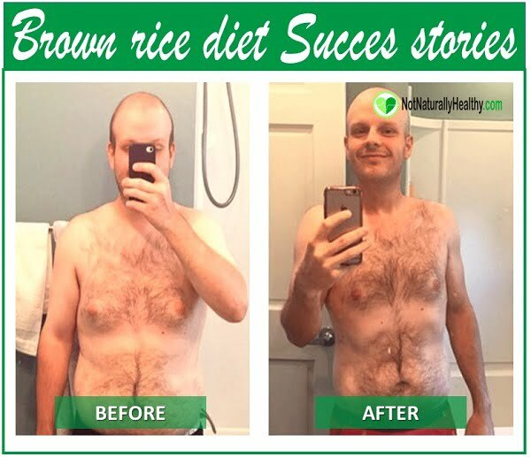 brown rice diet results